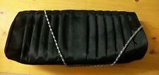 Black Dorothy Perkins clutch bag with chain.