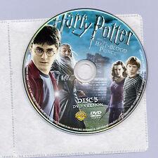 Harry Potter & Half-Blood Prince 2009 PG fantasy movie, DVD disc&sleeve Radcliff