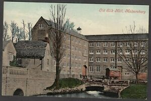 Postcard Malmesbury Wiltshire early view of the Old Silk Mill