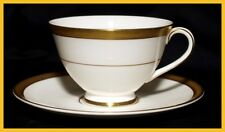Royal Doulton Royal Gold Cups & Saucers - H4980