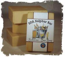 Beer _Sudweiser_ SPA Sulphur Mineral Soap Made in Montana Handmade Homemade