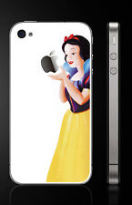 SNOW WHITE Vinyl Sticker Full-body Decal Skin for Apple iPhone 5/5s [White]