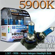 9006 100WATT HB3 SUPER WHITE 5900K XENON HID HALOGEN LIGHT BULBS FOR LOW BEAM