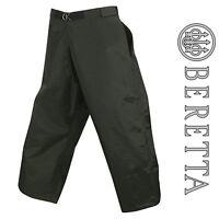 Beretta Classic Waterproof Chaps DWR Green Authentic Hunting Clothing CU362