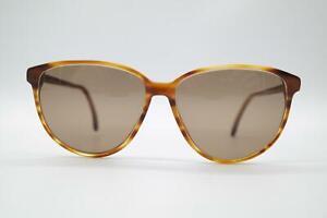 Vintage Rodenstock Nicola 8013 Braun Oval Sunglasses Glasses NOS