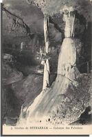 CPA 65 - Grottes de Bétharram - colonnes des Palmiers
