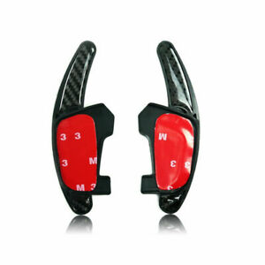 Carbon Fibre Paddle Shifters for VW Scirocco Polo R GTI Extensions DSG Paddles