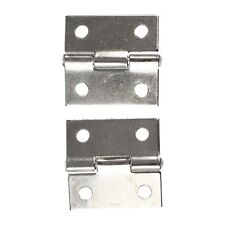 """25 x 20x 5mm/ 1"""" x 0.8"""" Gray Metal 1"""" Small Butt Hinge for Cabinet Drawer ED"""
