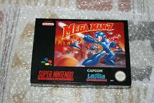 SNES MEGAMAN 7 PAL VERSION BOX ONLY PAL VERSION NEW NO GAME