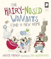 NEW The Hairy Nosed Wombats Find A New Home By Jackie French  Paperback