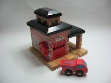 BRIO SODOR FIRE STATION  for Wooden Train / Railway Track Set ( Brio Thomas )