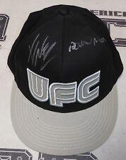 Fabricio Werdum & Antonio Rodrigo Nogueira Signed Official UFC Hat PSA/DNA COA