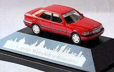 Mercedes Benz C-Klasse C220 W202 Limousine 1993-97 MB-Leipzig rot red 1:87 Herpa