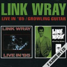 Link Wray - Live in '85 / Growling Guitar [New CD] UK - Import