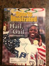 August 10 1992 Gail Devers Running Olympics Sports Illustrated Magazine Vintage