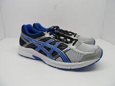 Asics Men's Gel-Contend 4 Athletic Running Shoe Silver/Blue/Black Size 13M