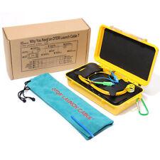 SM OTDR Launch Cable Box 1310/1550nm for Singlemode Fiber 1000m w/Watertight Box