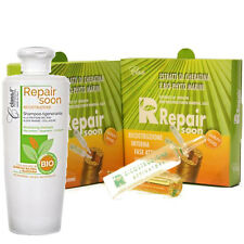 Repair Soon Kit Revitalizing Shampoo + 2 vials box Class ® 250ml Rise Protein