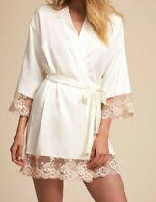 Flora Nikrooz Rosa Kimono Robe sz S  ivory
