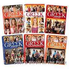 Greek: Complete TV Series Chapters 1 2 3 4 5 6 (Seasons 1-4) Box/DVD Set(s) NEW!