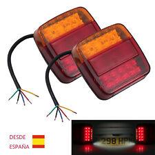 2X  Luz trasera Luz indicadora de LED Remolque Camión Camionetas Super Brillante