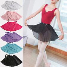Fashion Women Girl Chiffon Ballet Leotard Tutu Wrap Scarf Skirt Dance Skirt New`
