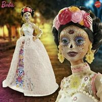 2020 Barbie Dia De Los Muertos Day of The Dead Pink Doll Brand IN HAND
