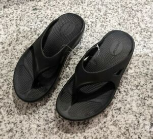 Oofos Black Women's Ooriginal Recovery Sandals Size 6 New Without Box