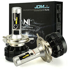 JDM ASTAR N1 7600LM H4/9003 HB2 LED Headlight High Low Dual Beam DRL Bulbs White