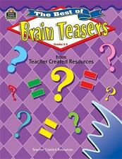 The Best of Brain Teasers Null, Kathleen Paperback