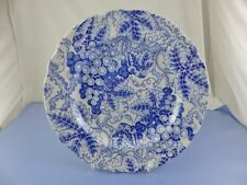"""SPODE BLUE ROOM COLLECTION GRAPES LUNCHEON PLATE 9.25"""""""