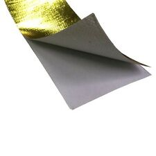 24'' REFLECTIVE GOLD HEAT SHIELD TAPE THERMAL RACING (0.6m*0.6m) Piece #M2673 QL