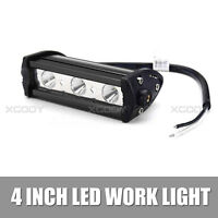 3 LED Work Light Spot Beam 4inch 9W Bar For Off road Boat Truck ATV Driving Lamp