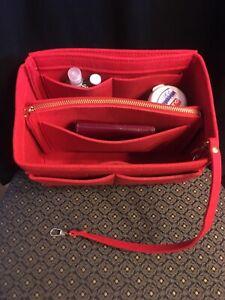 Insert For Many MEDIUM Bags Louis Vuitton Speedy 30  PMTote Noe True RED Shaper