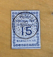 Timbre MADAGASCAR Stamp (French Colonie Française) YT n°10 Obl (Col3)