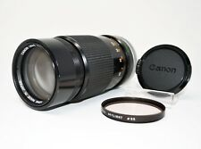 【Excellent+++++】Canon FD 200mm f/4 FD Lens w/ Filter & Cap*Free Shipping*
