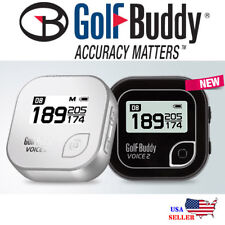 NEW Golf Buddy Voice 2 GPS Talking Audio Distance Rangefinder - [Black]
