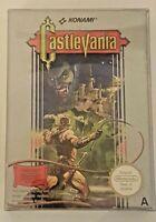 Castlevania - Nintendo NES - Boxed CIB PAL A + Box Protector  Lot B - great copy