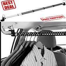 Car Clothes Bar Rod Rack Hanger Hanging Truck Suv Storage Organizer Vehicle Auto