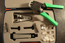 Nuline Data Comm Tool Kit Crimping Punch Down Plugs Ht-2500A (7 Pc)