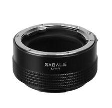 Lr-Rf Gabale Adaptador Objetivo Leica R Objetivo para Canon Eos R Cámara Eosr RF