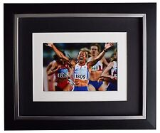 More details for kelly holmes signed 10x8 framed photo autograph display olympic athletics coa