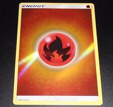 FIRE Energy SM Shining Legends REVERSE HOLO Pokemon Card NEAR MINT