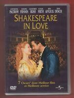 DVD - Shakespeare IN Love Con Gwyneth Paltrow, Joseph Fiennes (12)