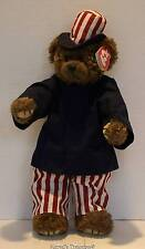 "Ty Samuel ""I Want You"" Bear 14"" Plush Stuffed Retired Attic Treasures Euc"