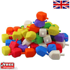 More details for colourful mix of hannuka chanuka dreidels at wholesale prices! choose 1 - 500