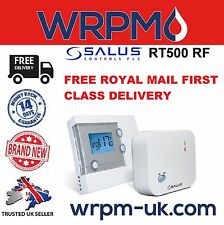 Salus RT500 RF Wireless Digital Display Room Thermostat - Brand New in Box
