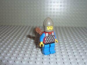 Personnage Minifig LEGO Castle Réf cas151a Set 6086-1: Black Knight's Castle