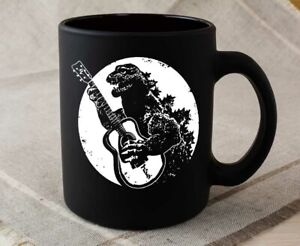 Godzilla Playing Guitar Mug