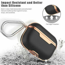 Case For AirPods Pro Earbuds Headset Protector Imitation Leather+PC Cover USA